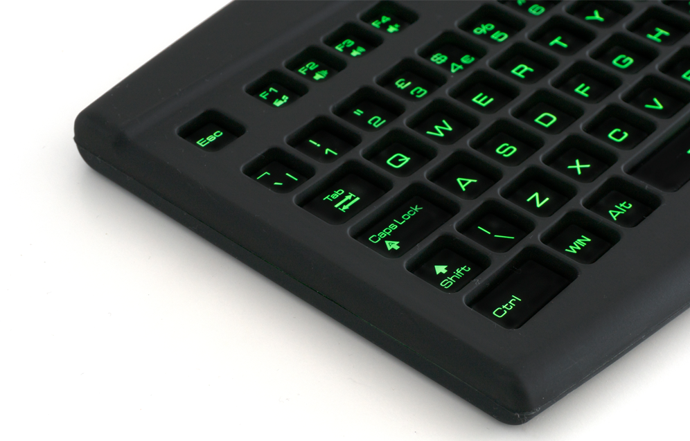 Image of a Lime Keyboard.