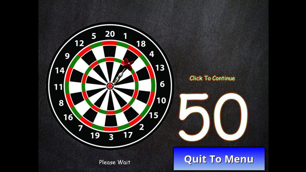 Dartboard with dart in the bullseye.