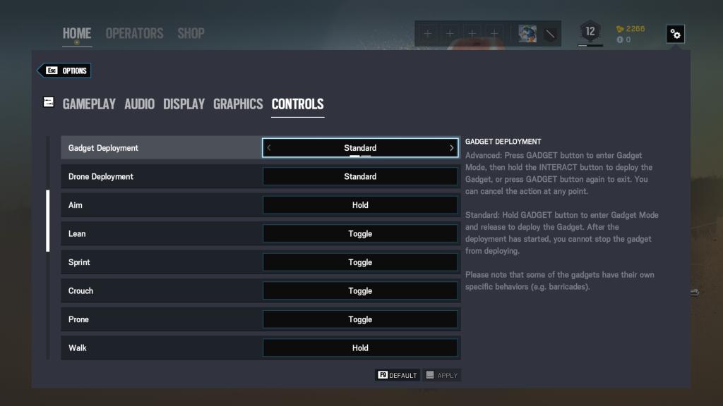 Tom Clancy's Rainbow Six Siege | Controls Walkthrough PC
