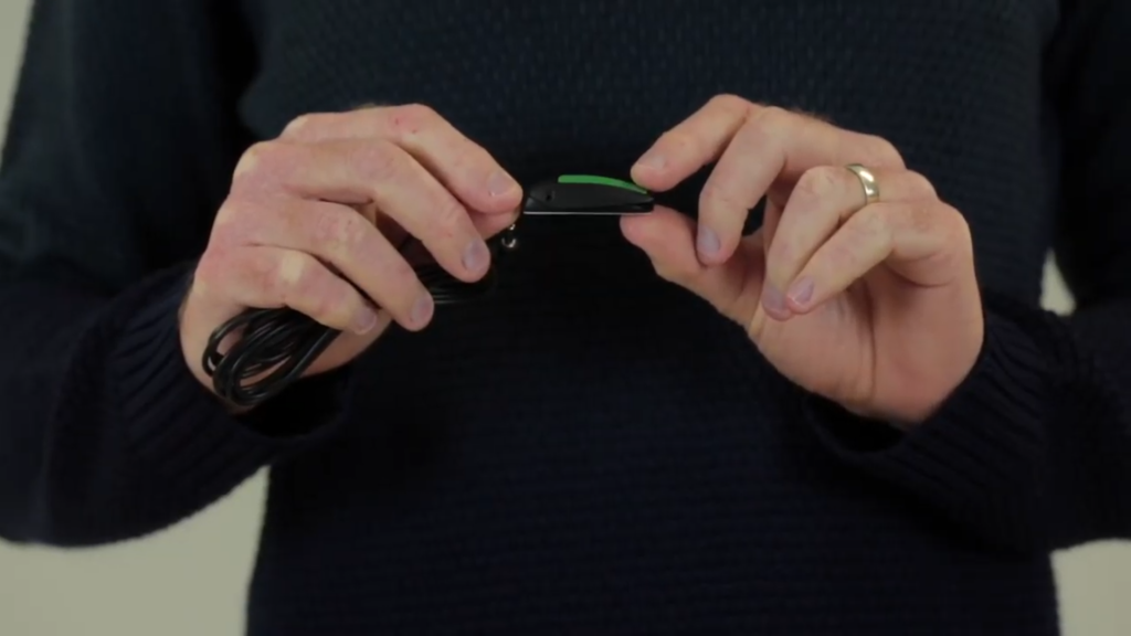 """""""An image showing a still from the video above of an Ultra Light HD Switch being held."""""""