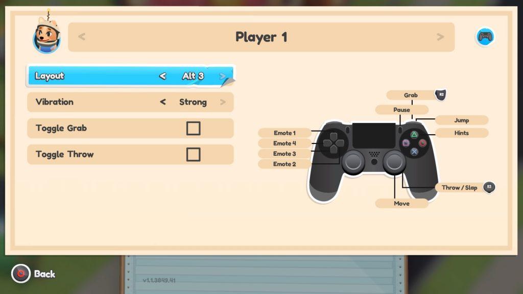 Screenshot of Alt 3 Layout