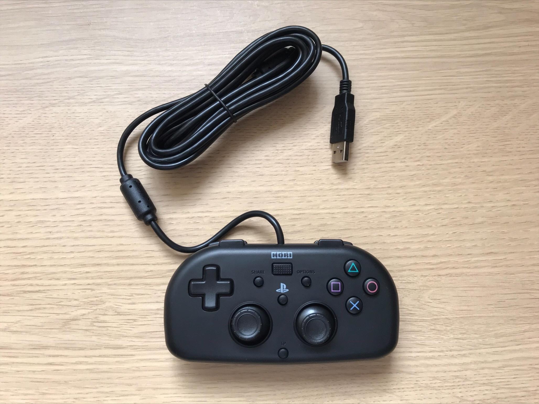 A Lightweight PS4 Hori Mini controller