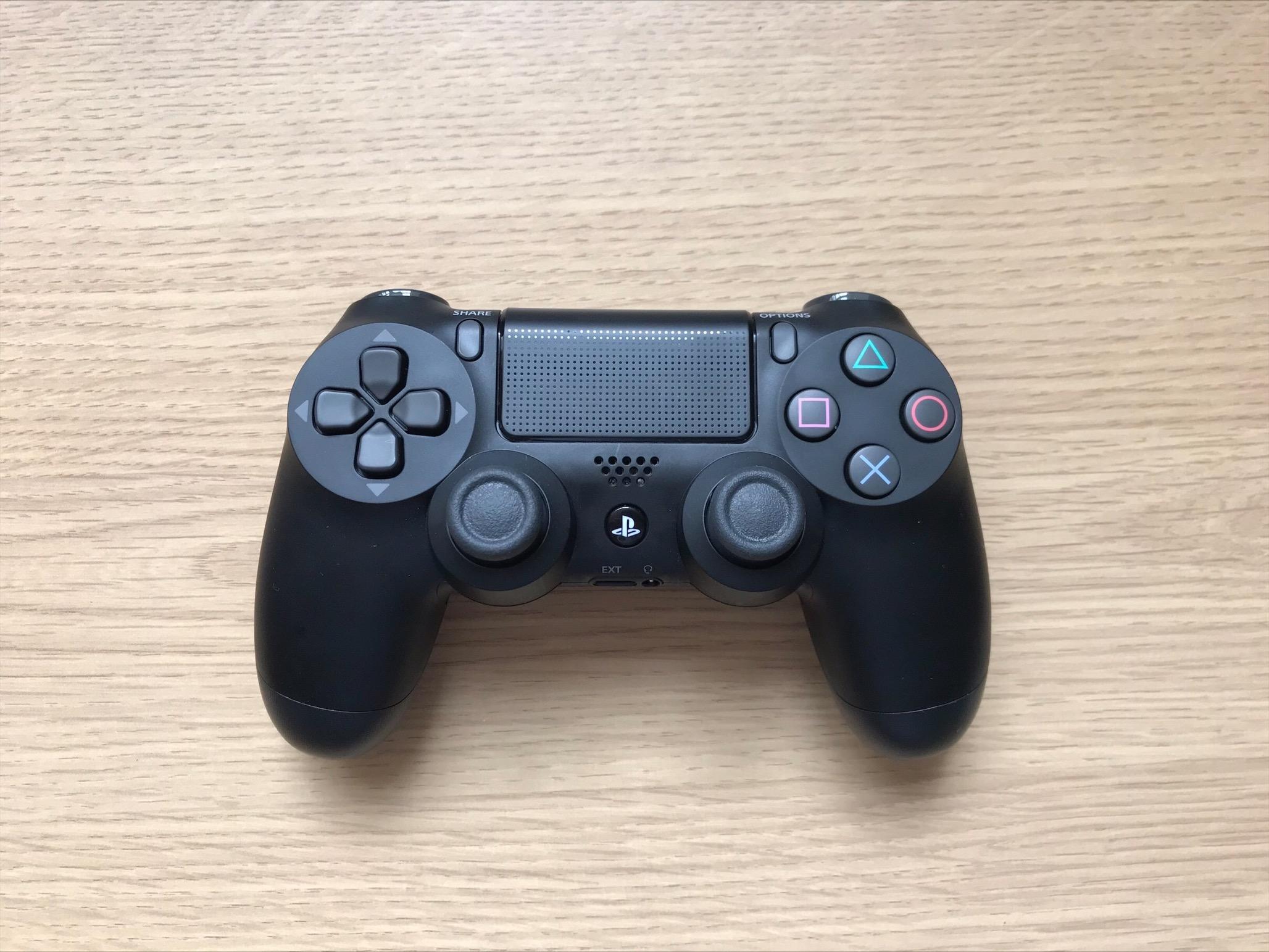 A Lightweight PS4 DualShock controller