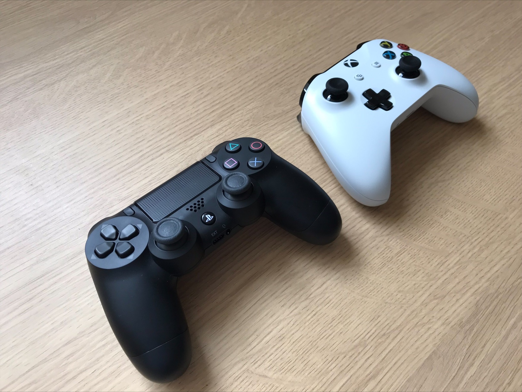 Two low force controllers
