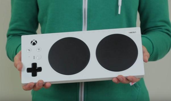 photograph of Xbox Adaptive Controller.